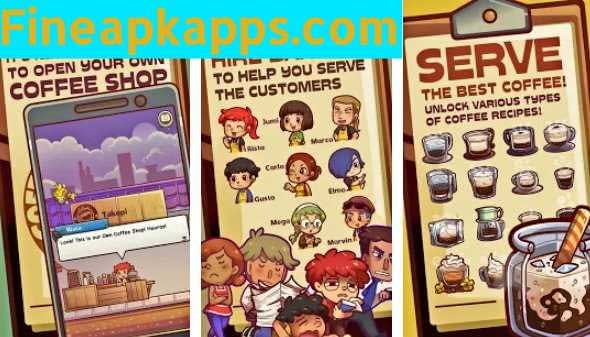 Download Own Coffee Shop Mod APK Latest Version