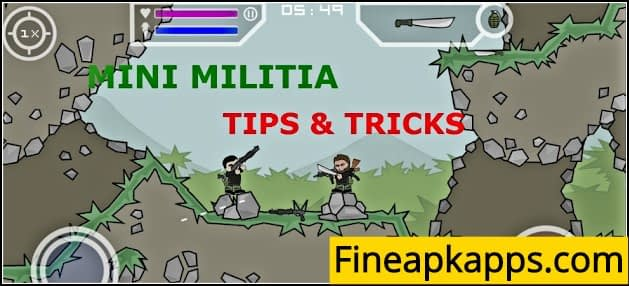 mini militia cheats and tricks